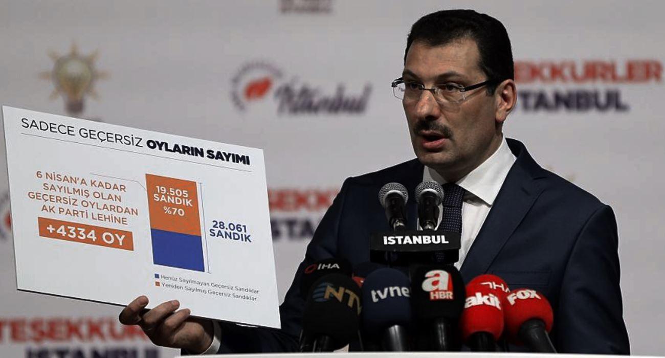 AKP İstanbul seçimlerinin neden yenilenmesini istediğini anlattı