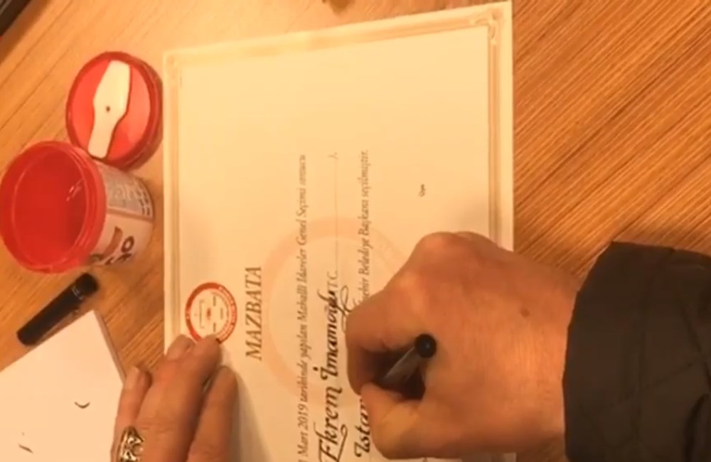 CHP: Ekrem İmamoğlu mazbatasını 16:00'da alacak