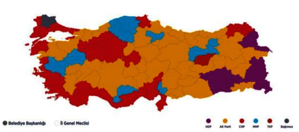 Seçim sonuçları ve seçimlerde yaşanan olaylar
