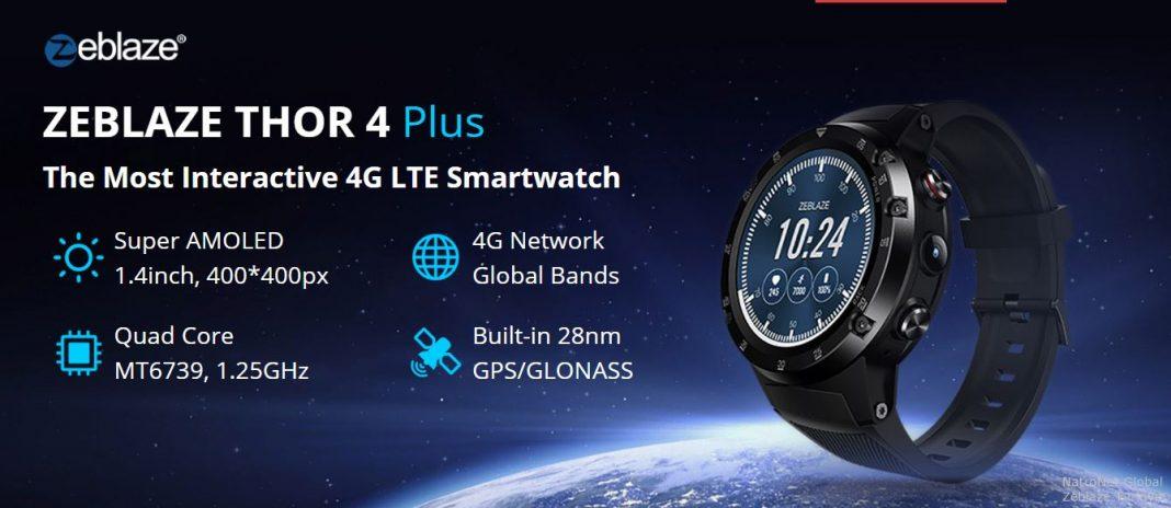 Zeblaze Akıllı Saatler Türkiye: Zeblaze Thor 4 Plus NatroNet Global