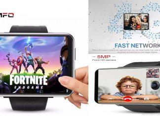 LEMFO LEM T Android 7.1.1 Akıllı Saat – 2.86 İnch Ekran 2700 mAh Batarya