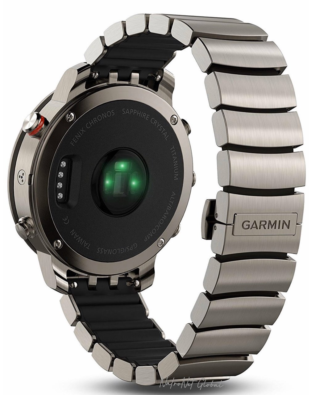Garmin Fenix Chronos Titanyum Spor GPS Akıllı Saat