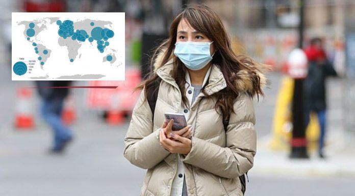 Koronavirüs haritası: Küresel dağılım (son durum)