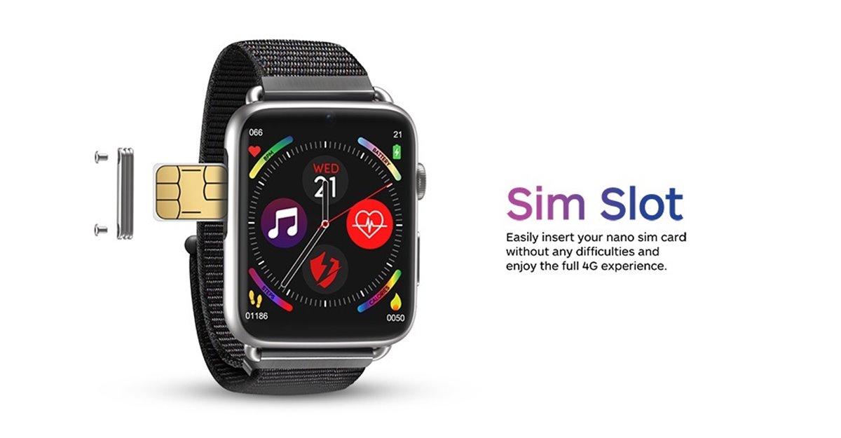 Lemfo Lem10 3GB+32GB 4G Android 7.1.1 Akıllı Saat