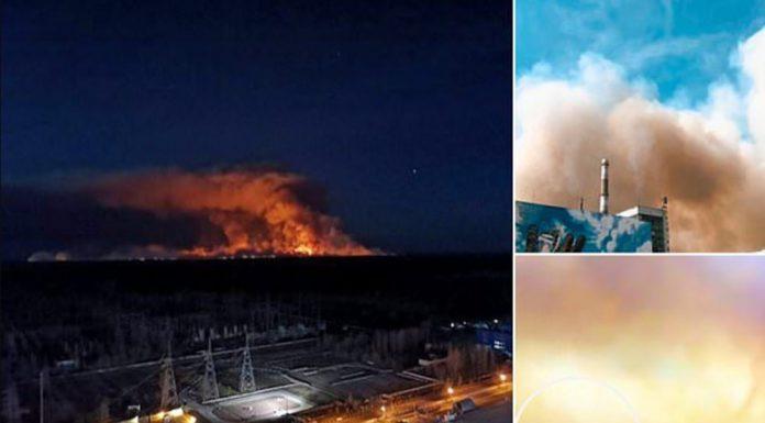 Çernobil nükleer santrali yangın tehdidi altında