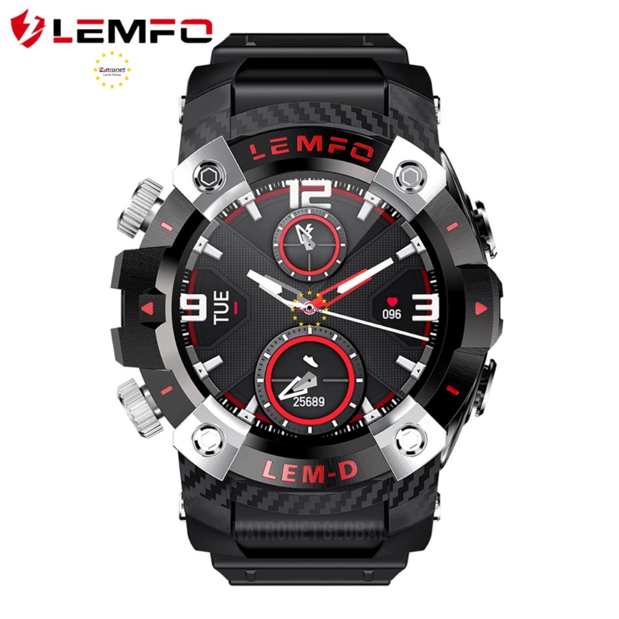 Lemfo LEMD Akıllı Saat Kampanyası Yeni Amiral Gemisi