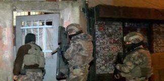 İstanbul'da 14 farklı ilçede IŞİD operasyonları