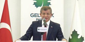 Davutoğlu: Bahçeli FETÖ'nün hükümeti devirme teşebbüsüne açık destek vermiştir