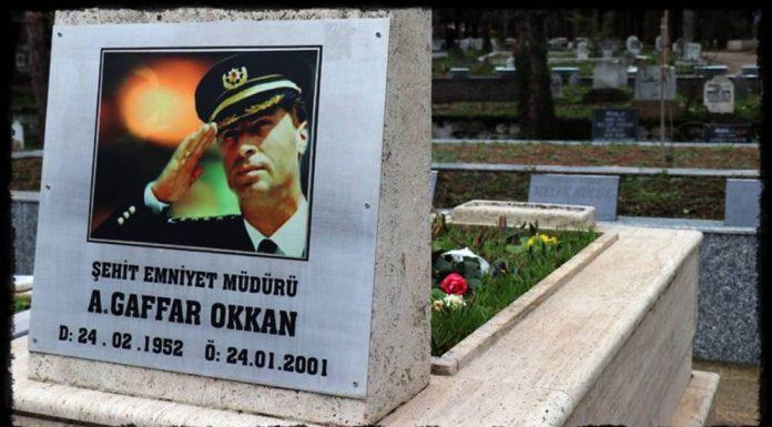 Diyarbakır Eski Emniyet Müdürü Gaffar Okkan'ın Şehit Edilmesinin 20. yılı