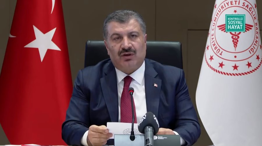 Sağlık Bakanı Koca: Vaka sayılarının arttığını mutasyonun etkili olduğunu görüyoruz