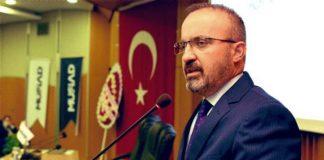 AKP'li Turan'dan Ayasofya baş imamı Mehmet Boynukalın'a tepki