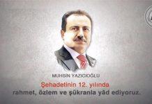 Muhsin Yazıcıoğlu'nu Şehadetinin 12. yılında rahmet özlem ve şükranla yâd ediyoruz