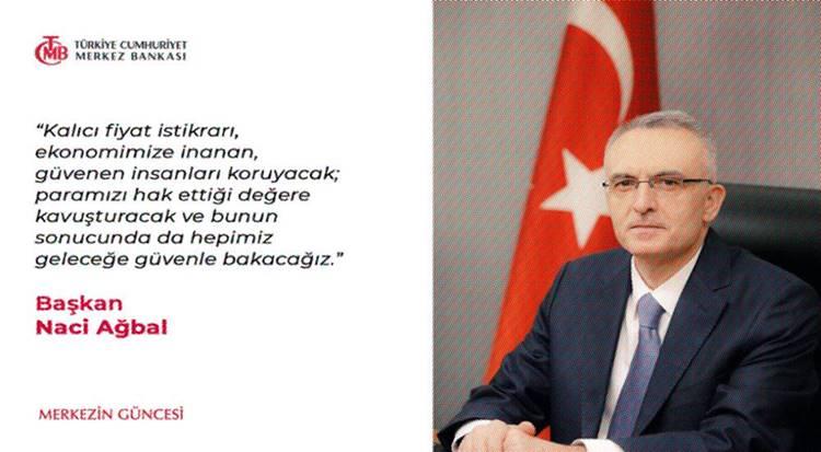 Economist: Naci Ağbal Doğru reçeteyi uyguluyor ancak geleceği Erdoğan'a bağlı