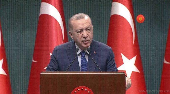 Cumhurbaşkanı Erdoğan: Emekli amirallerin bildirisi 'art niyetli bir girişim'