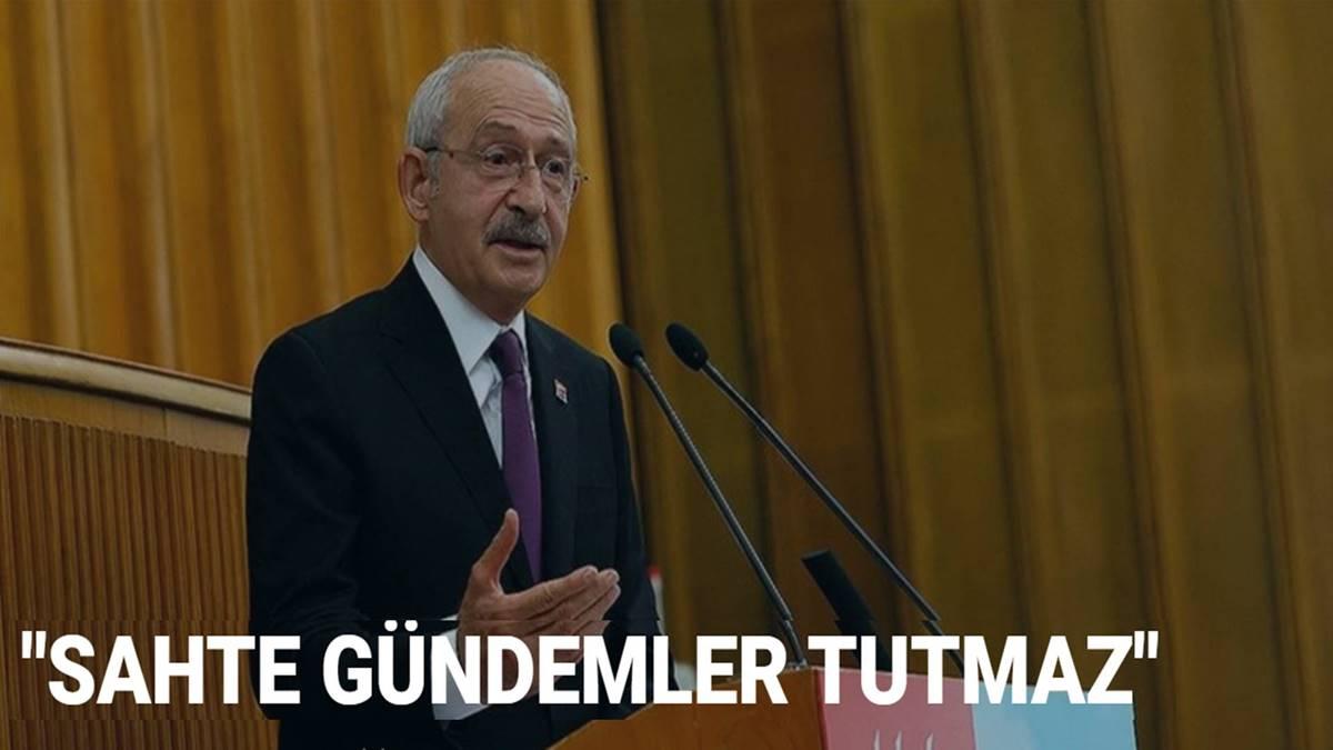 Kılıçdaroğlu'ndan Erdoğan'a: Bu sahte gündemler tutmaz