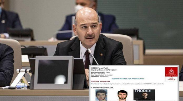 Soylu'dan Thodex açıklaması: Faruk Fatih Özer'in 31 milyon lirasına el konuldu