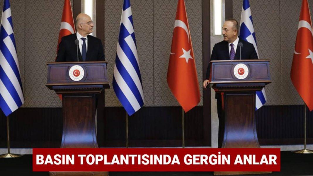 Dışişleri Bakanı Mevlüt Çavuşoğlu'ndan Nikos Dendias'a sert tepki