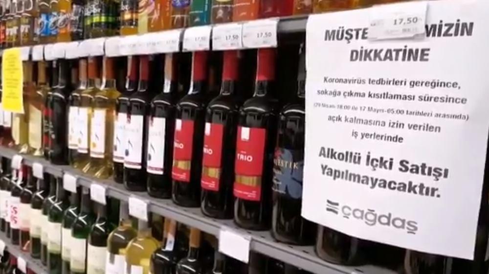 Antalya'da tekel büfeleri kapatıldı, alkol satışı yasaklandı
