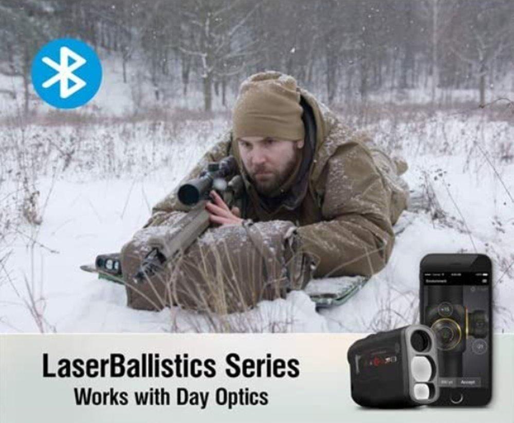ATN Lazer Balistik Mesafe Bulucu w / Bluetooth, Balistik Hesap Makinesi