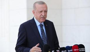 Cumhurbaşkanı Erdoğan: THK'nın elinde buralarda rahatlıkla kullanılabilecek uçak falan yok