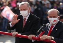 Erdoğan Kuzey Kıbrıs'ta 'Cumhurbaşkanlığı külliyesi inşasına başlıyoruz'