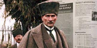 """Kıbrıs Rum Eğitim Bakanlığından öğretmenlere """"kitabın Atatürk sayfasını yırtın"""" genelgesi"""