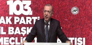 Erdoğan: CHP, bir Truva atı misali siyaset kurumunu içeriden çökertmeye çalışıyor