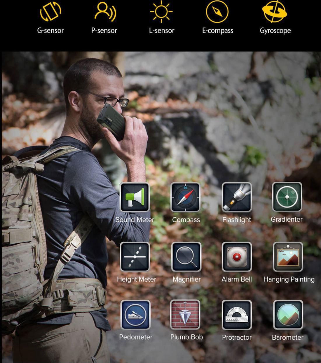 Ulefone Power Armor 13 13.200 mAh Bataryalı Zırhlı Telefon Ulefone Power Armor 13 Piyasaya sürülen dayanıklılık odaklı akıllı telefonlardan