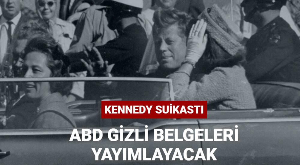 ABD,Kennedy suikastına ait bazı gizli belgeleri 15 Aralık'ta yayımlayacak